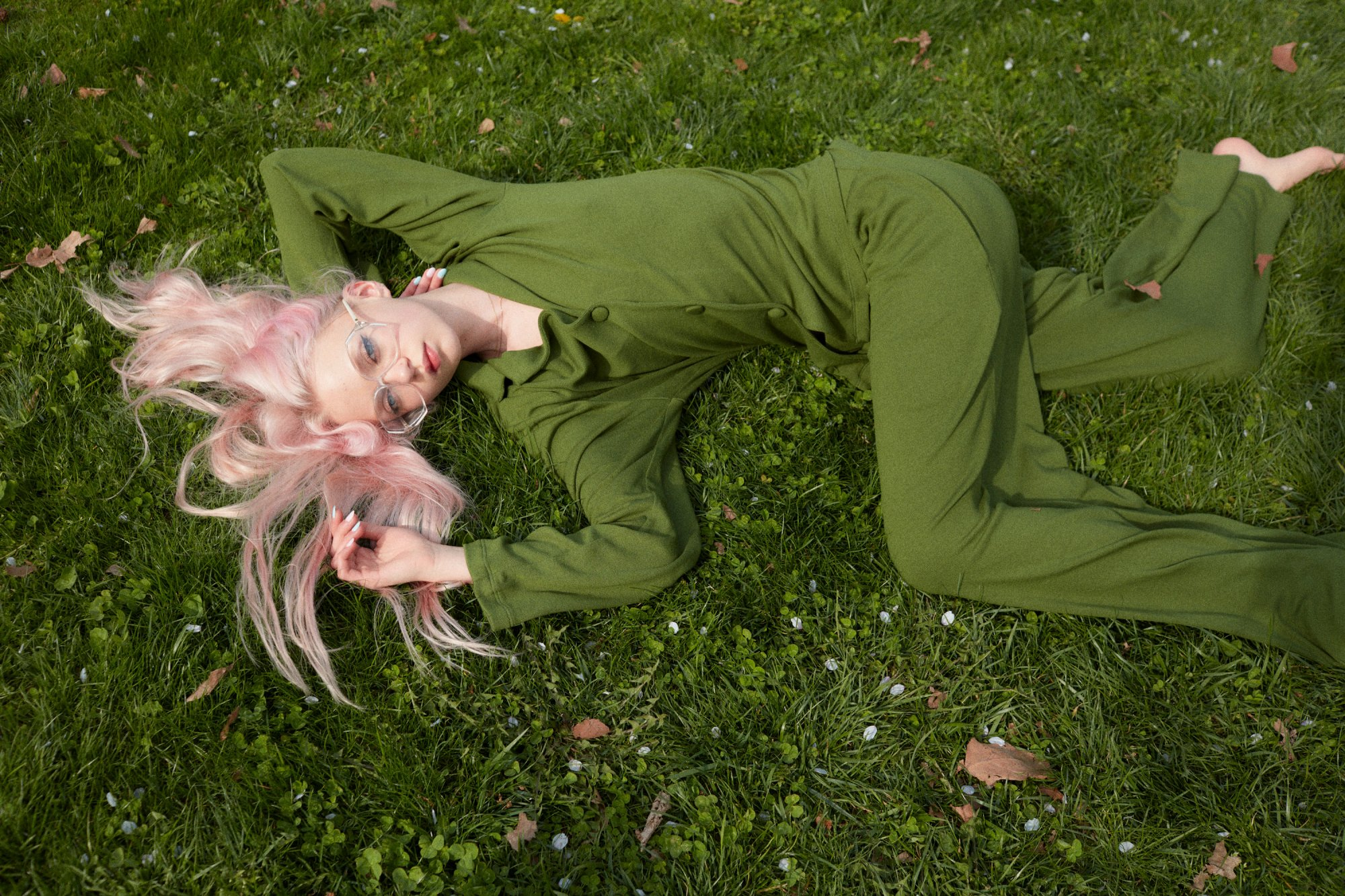 Anna Palma Coco in the Park