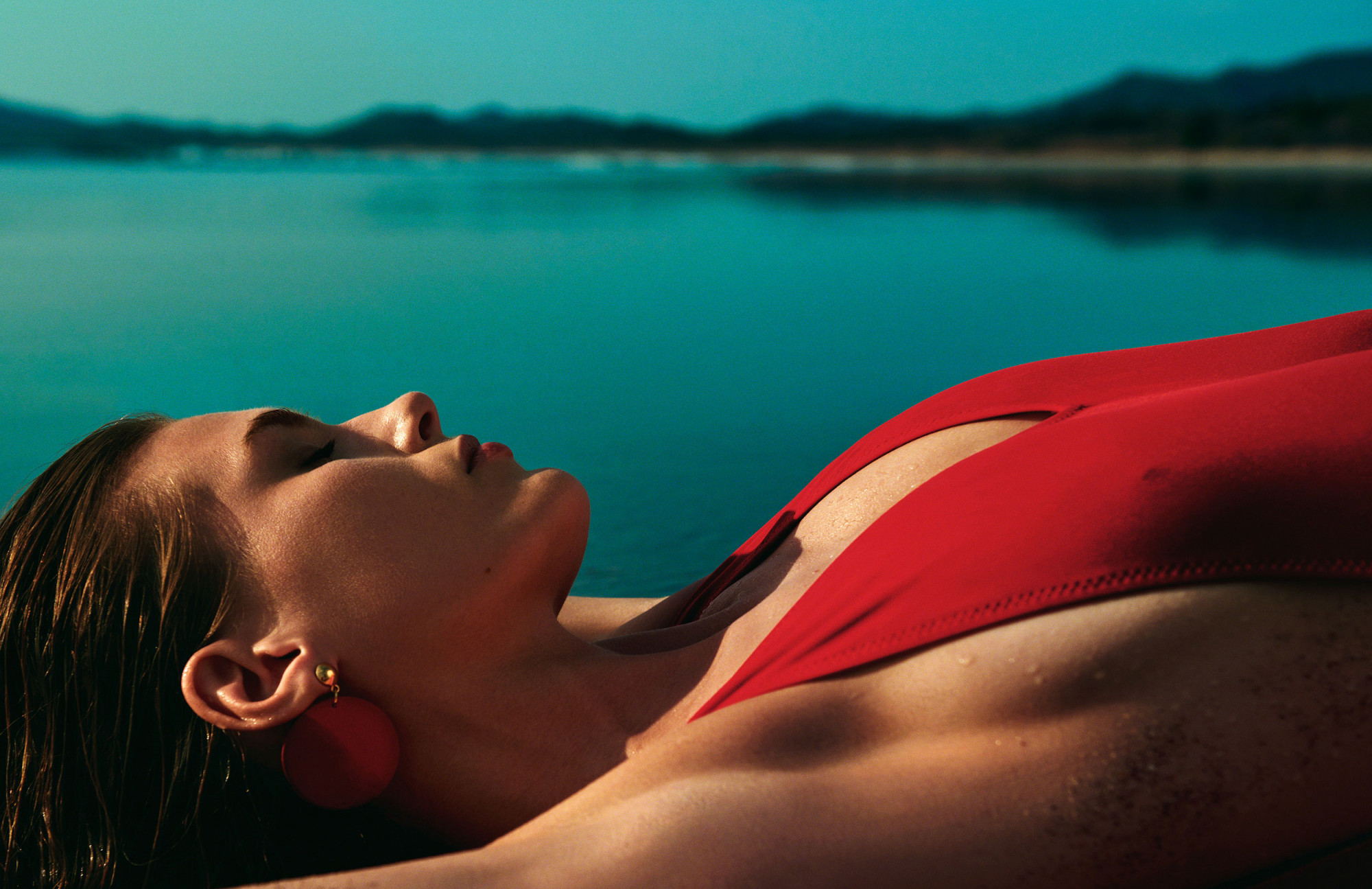 Bjorn Iooss Vogue Spain - Madison Headrick