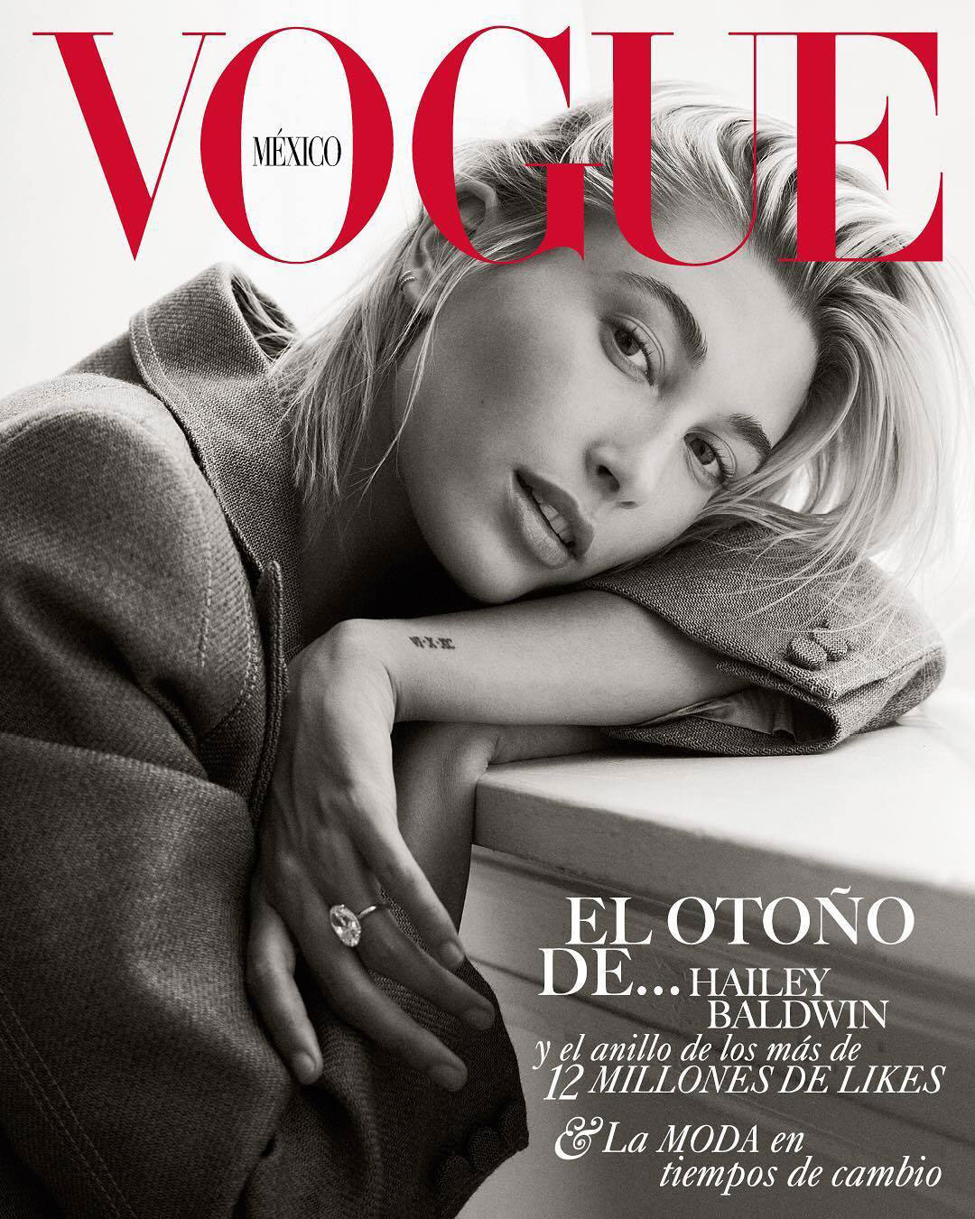 Bjorn Iooss Vogue Mexico - Hailey Baldwin