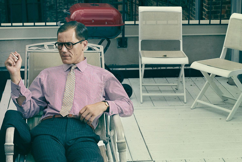 Bjorn Iooss L'Uomo Vogue - Michael Shannon