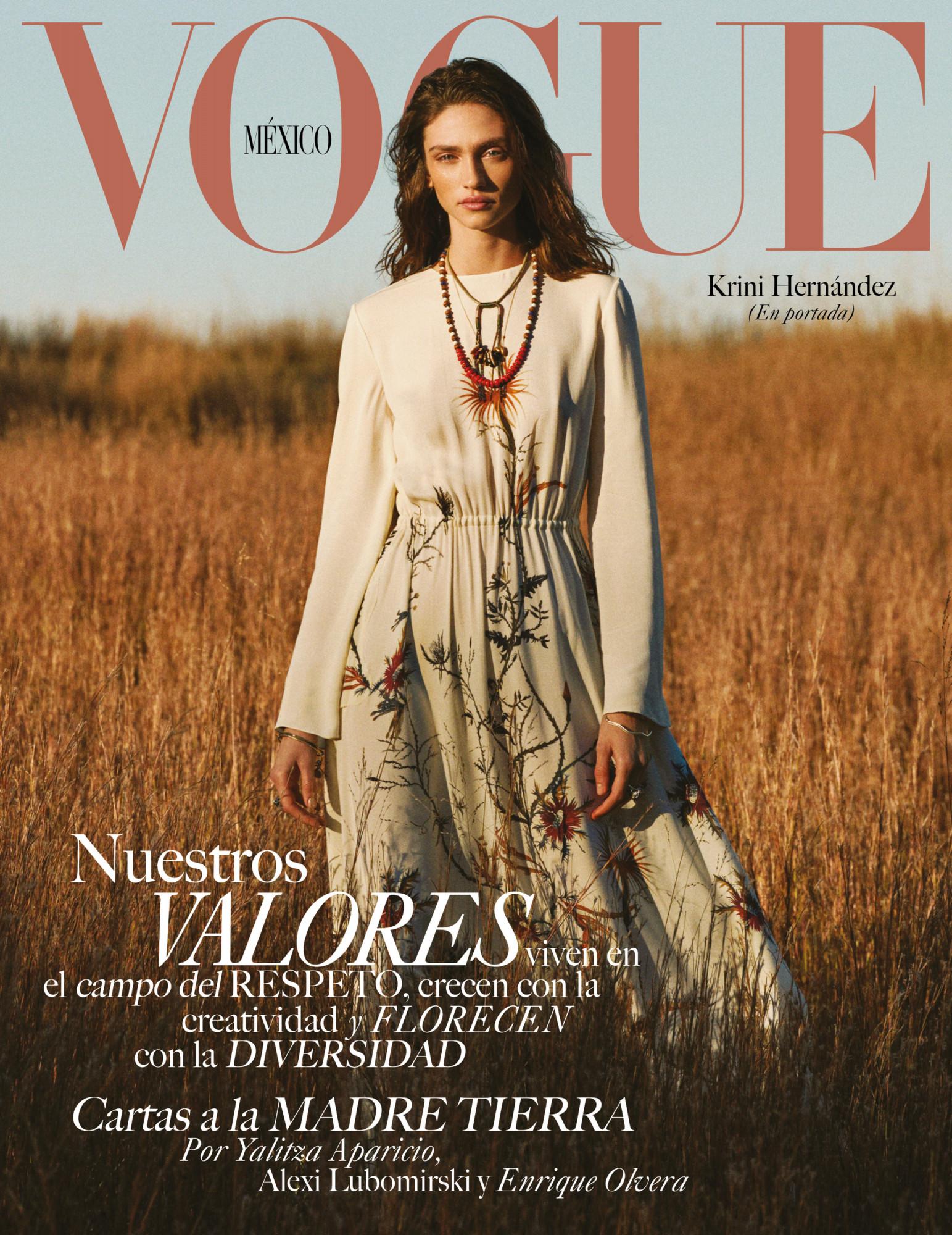 Bjorn Iooss Vogue Mexico - Krini Alejandra