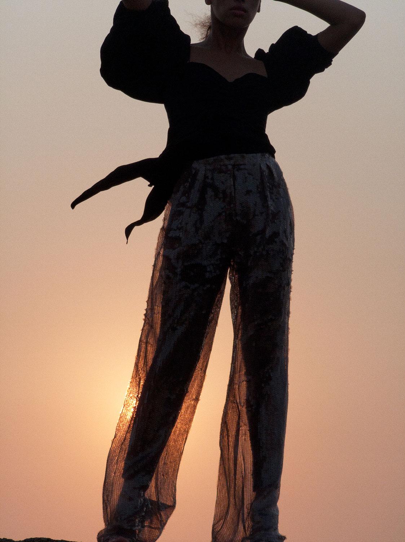 Bjorn Iooss Vogue-Mexico - Khadijha Red Thunder