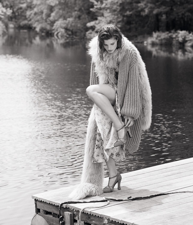 Bjorn Iooss Vogue Spain - Julia van Os