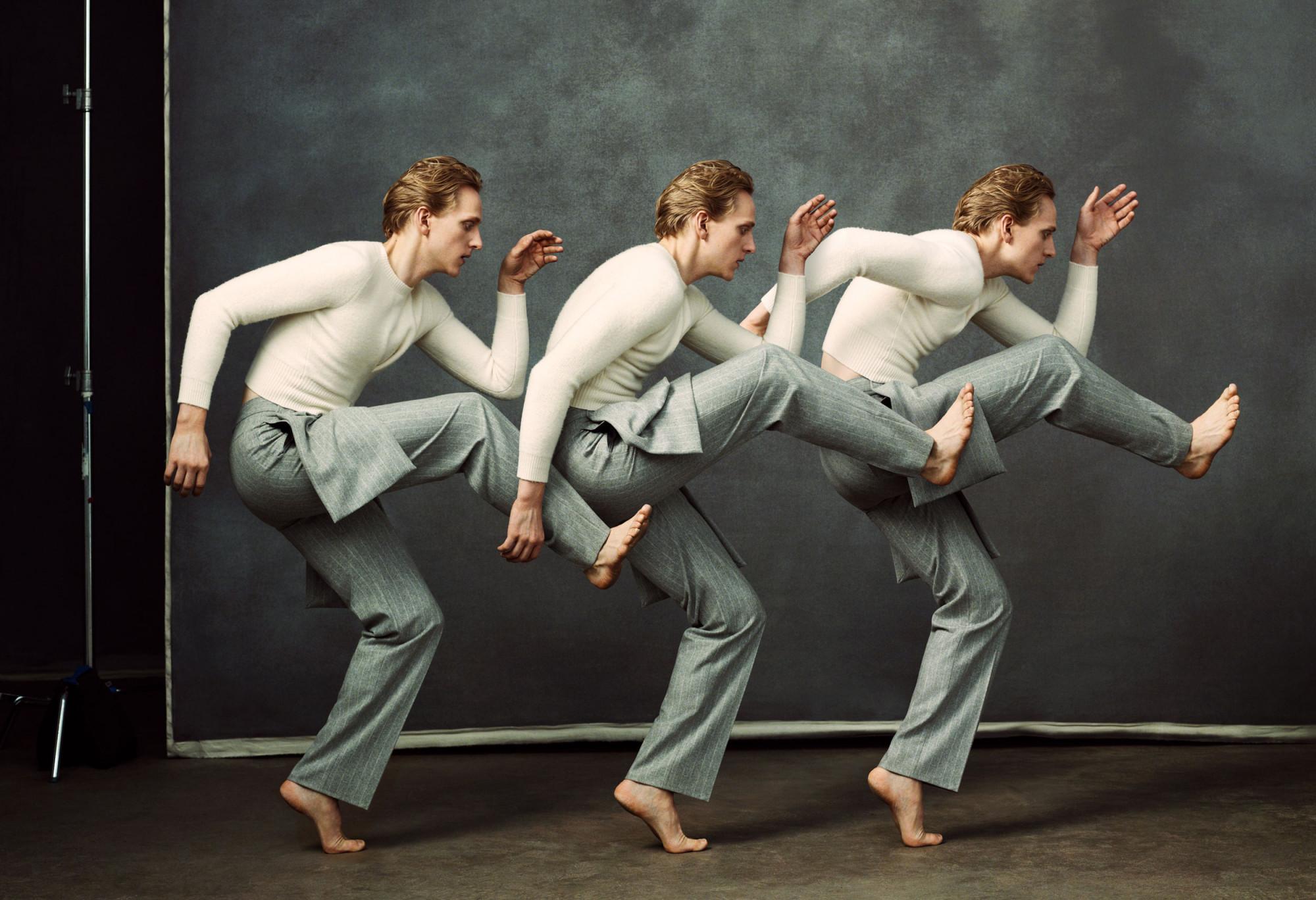 Bjorn Iooss CR Fashion Book - David Hallberg