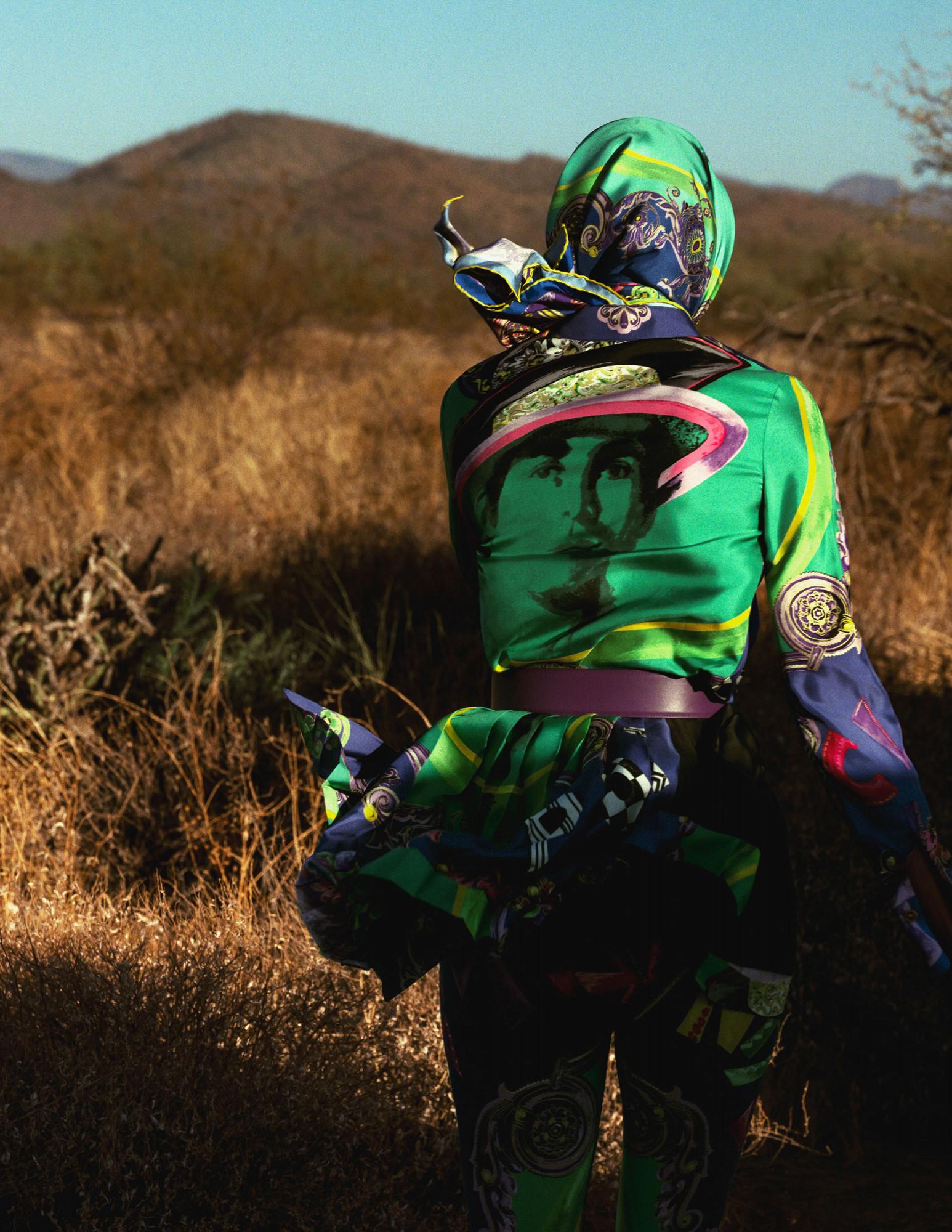 Bjorn Iooss Vogue Spain - Amanda Murphy