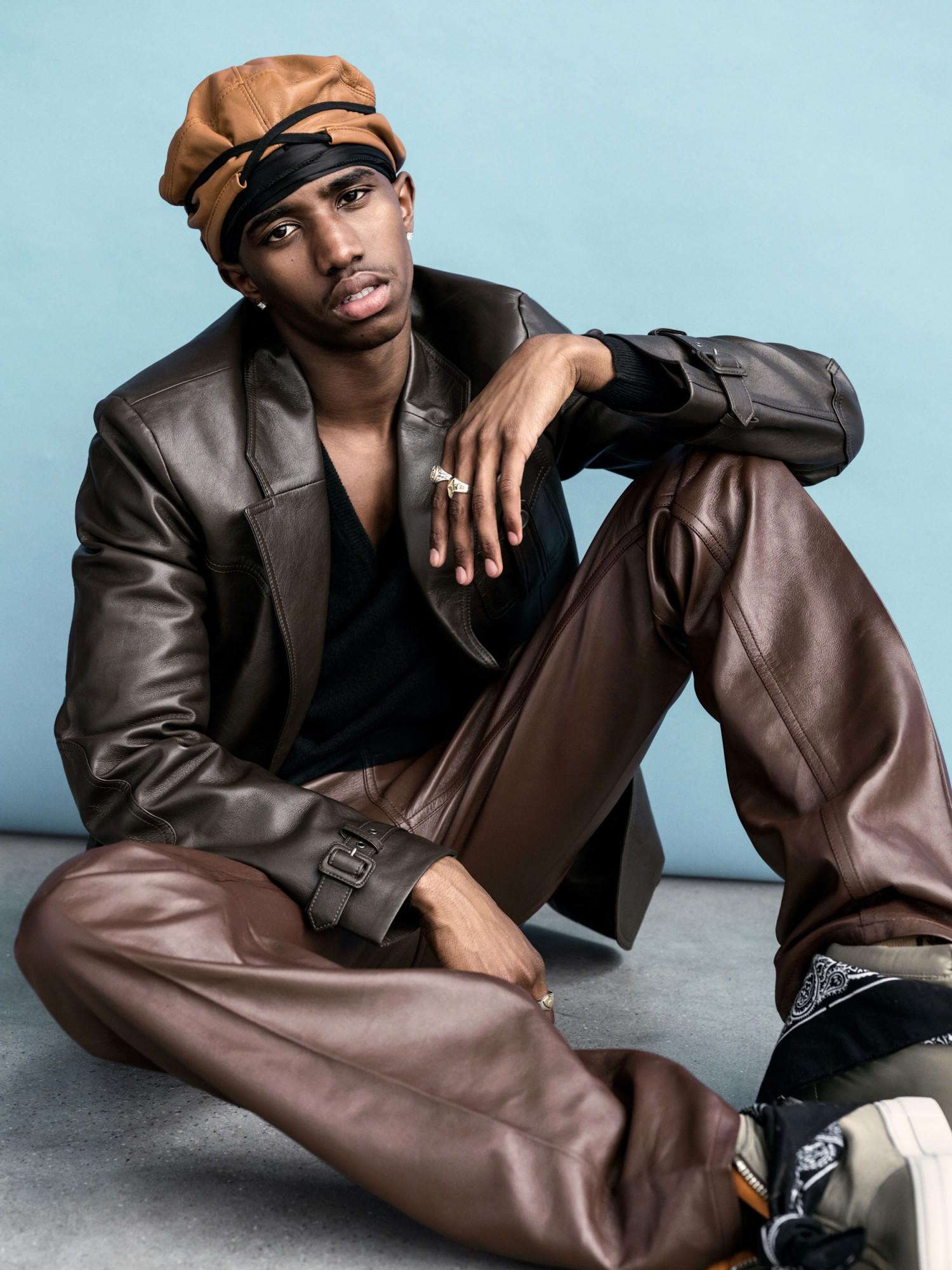 Bjorn Iooss L'Uomo Vogue - Christian Combs