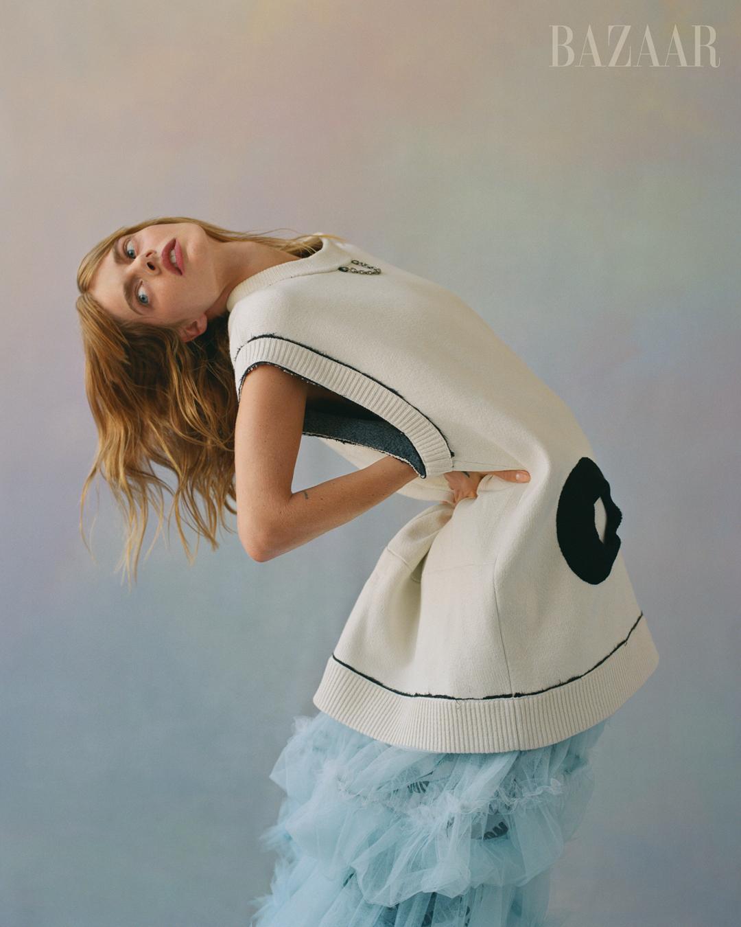 Daniel Jack Lyons Harper's Bazaar US - Samara Weaving
