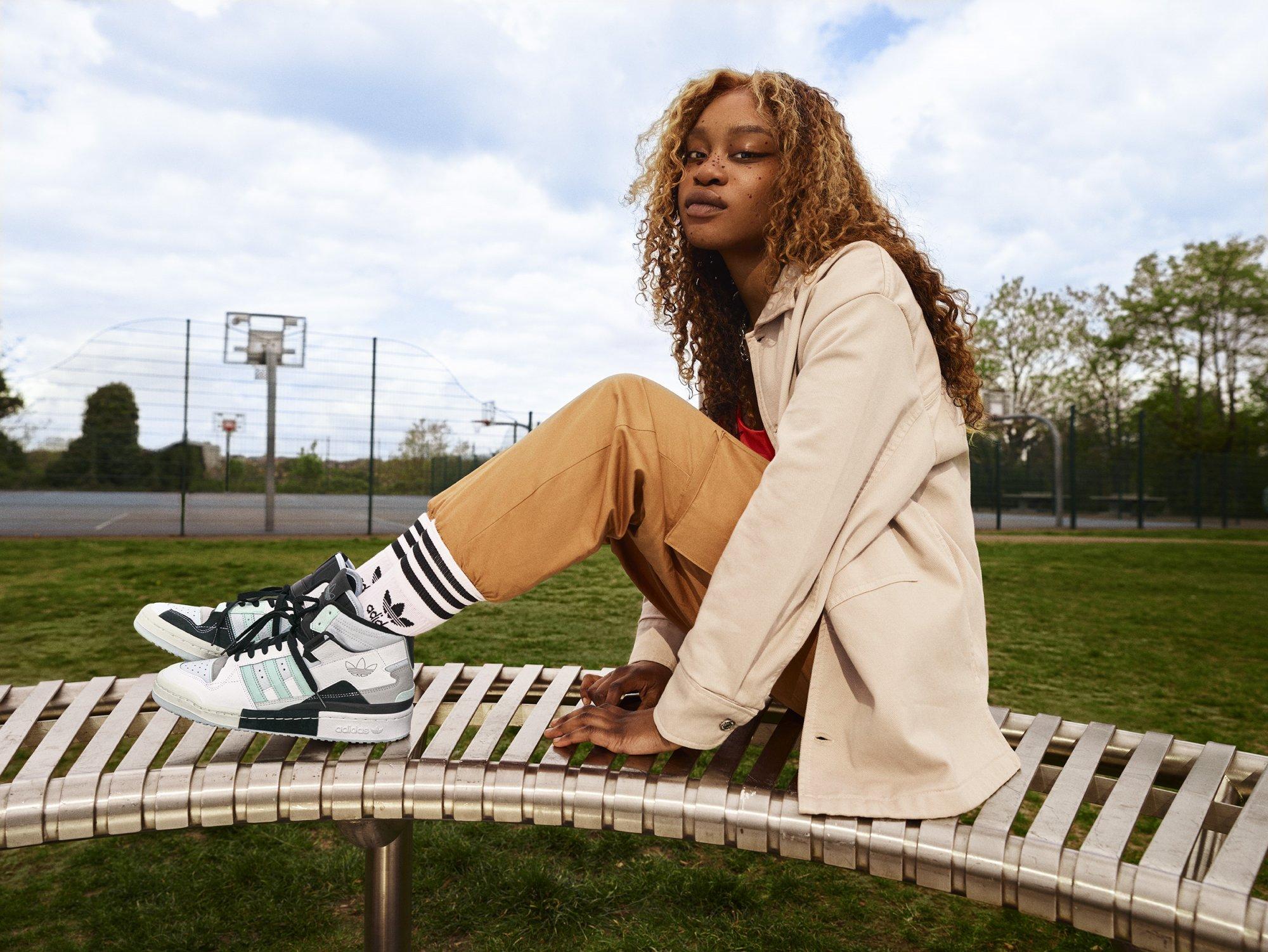 Roxane Dia Adidas Forum