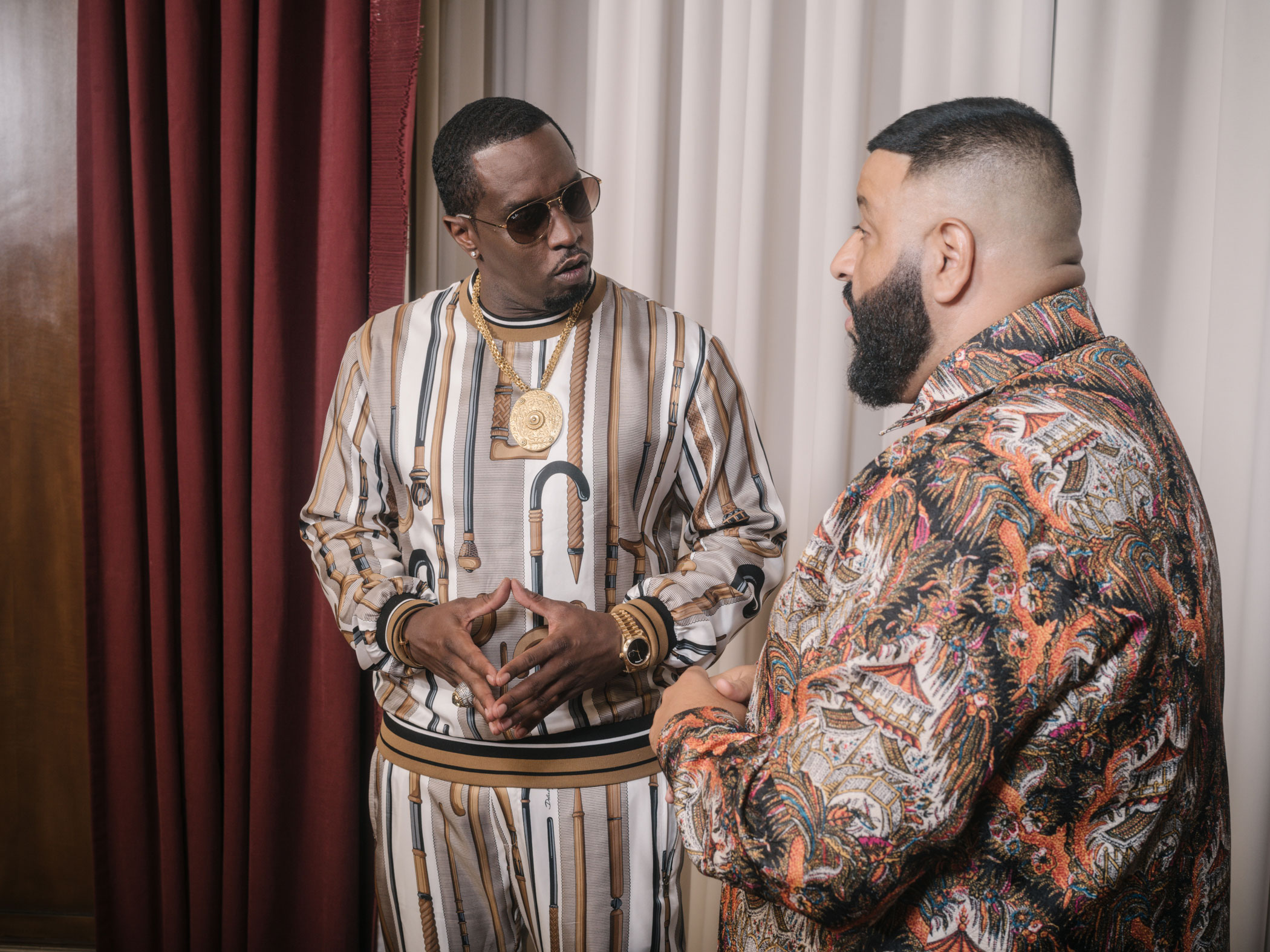 Wayne Lawrence Rolling Stone - P Diddy + DJ Khaled