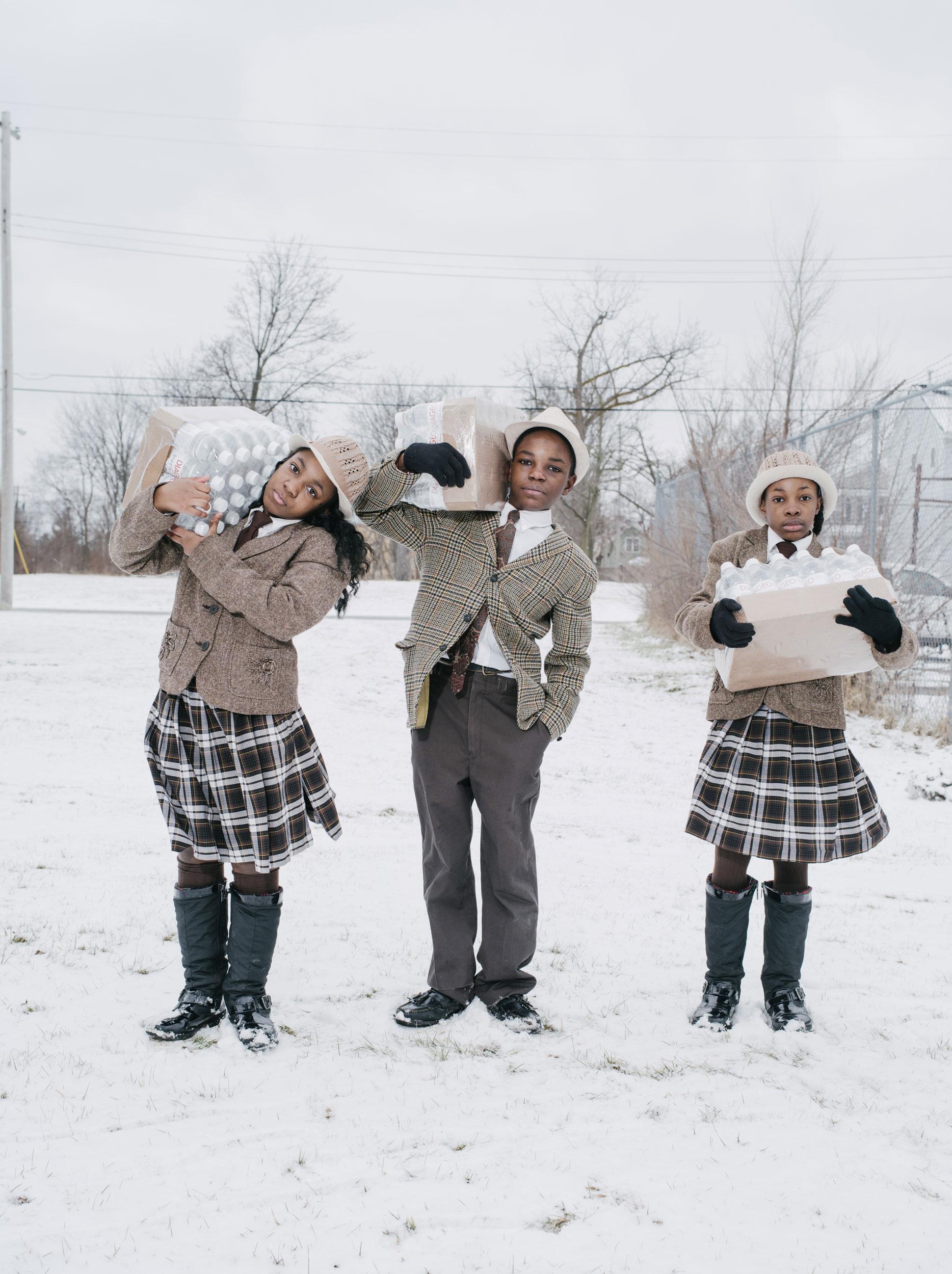 Wayne Lawrence National Geography - Flint Water Crisis