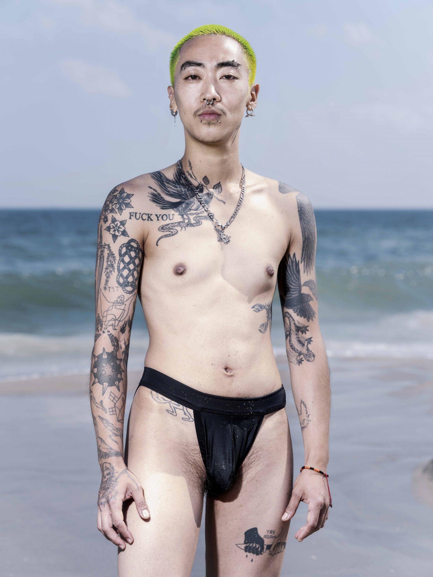 Wayne Lawrence New York Magazine - Jacob Riis Beach
